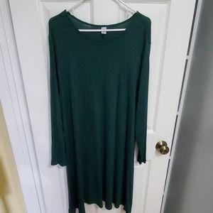 **3/$20 Green Swing Dress